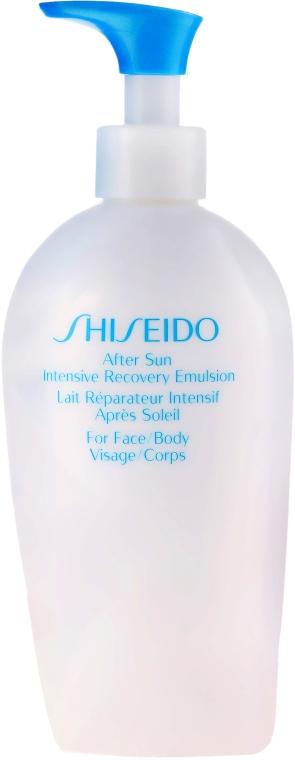 Intensiv revitalisierende Gesichts- und Körperemulsion nach dem Sonnen - Shiseido Suncare After Sun Intensive Recovery Emulsion — Bild N3