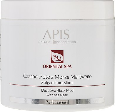 Heilschlamm aus dem Toten Meer mit Algen - APIS Professional Oriental Spa Dead Sea Black Mud With Sea Algae — Bild N1