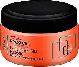 Düfte, Parfümerie und Kosmetik Pflegende Haarmaske - Prosalon Nourishing Mask Coconut