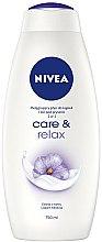 Düfte, Parfümerie und Kosmetik Pflegebad mit Malvenextrakt und Hibiskus-Duft - Nivea Care & Relax Body Wash