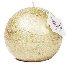 Düfte, Parfümerie und Kosmetik Naturkerze in Kugelform Golden Glow 10 cm - Ringa Golden Glow Candle