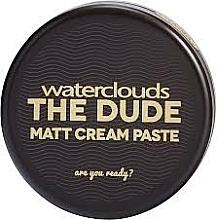Düfte, Parfümerie und Kosmetik Cremige Haarpaste mit Matt-Effekt - Waterclouds The Dude Matt Cream Paste