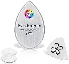 Düfte, Parfümerie und Kosmetik Dreiseitige Eyeliner-Schablone - Beautyblender Liner.Designer Pro