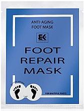 Düfte, Parfümerie und Kosmetik Feuchtigkeitsspendende Anti-Aging Fußmaske in Socken - Brazil Keratin Foot Rapair Mask