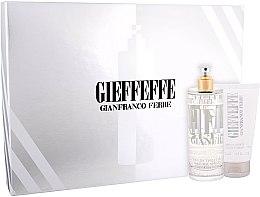 Düfte, Parfümerie und Kosmetik Gianfranco Ferre Gieffeffe - Kosmetikset (Eau de Toilette/100ml + Duschgel/75ml + Kosmetiktasche)
