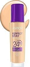 Düfte, Parfümerie und Kosmetik Langanhaltende Grundierung LSF 20 - Astor Perfect Stay Foundation 24h + Primer SPF20