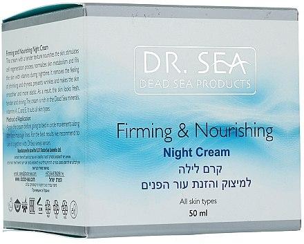 Straffende und pflegende Nachtcreme - Dr. Sea Firming & Nourishing Night Cream — Bild N1