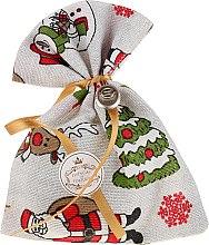 Düfte, Parfümerie und Kosmetik Weihnachtliches Duftsäckchen mit Naturseife Eukalyptus - Essencias De Portugal Cristmas Tradition Charm Air Freshener