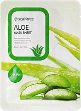 Düfte, Parfümerie und Kosmetik Feuchtigkeitsspendende und beruhigende Tuchmaske mit Aloeextrakt - Seantree Mask Sheet Aloe