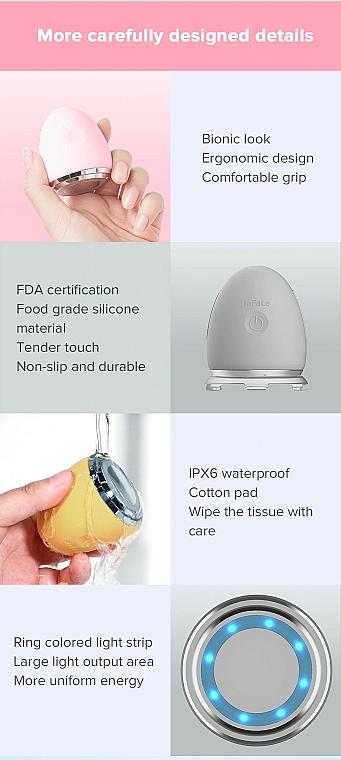 Ionisches Gesichtsmassagegerät grau - Xiaomi inFace Ion Facial Device CF-03D Grey — Bild N3