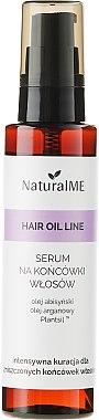 Haaröl gegen splissige Haare - NaturalME Hair Oil Line — Bild N1