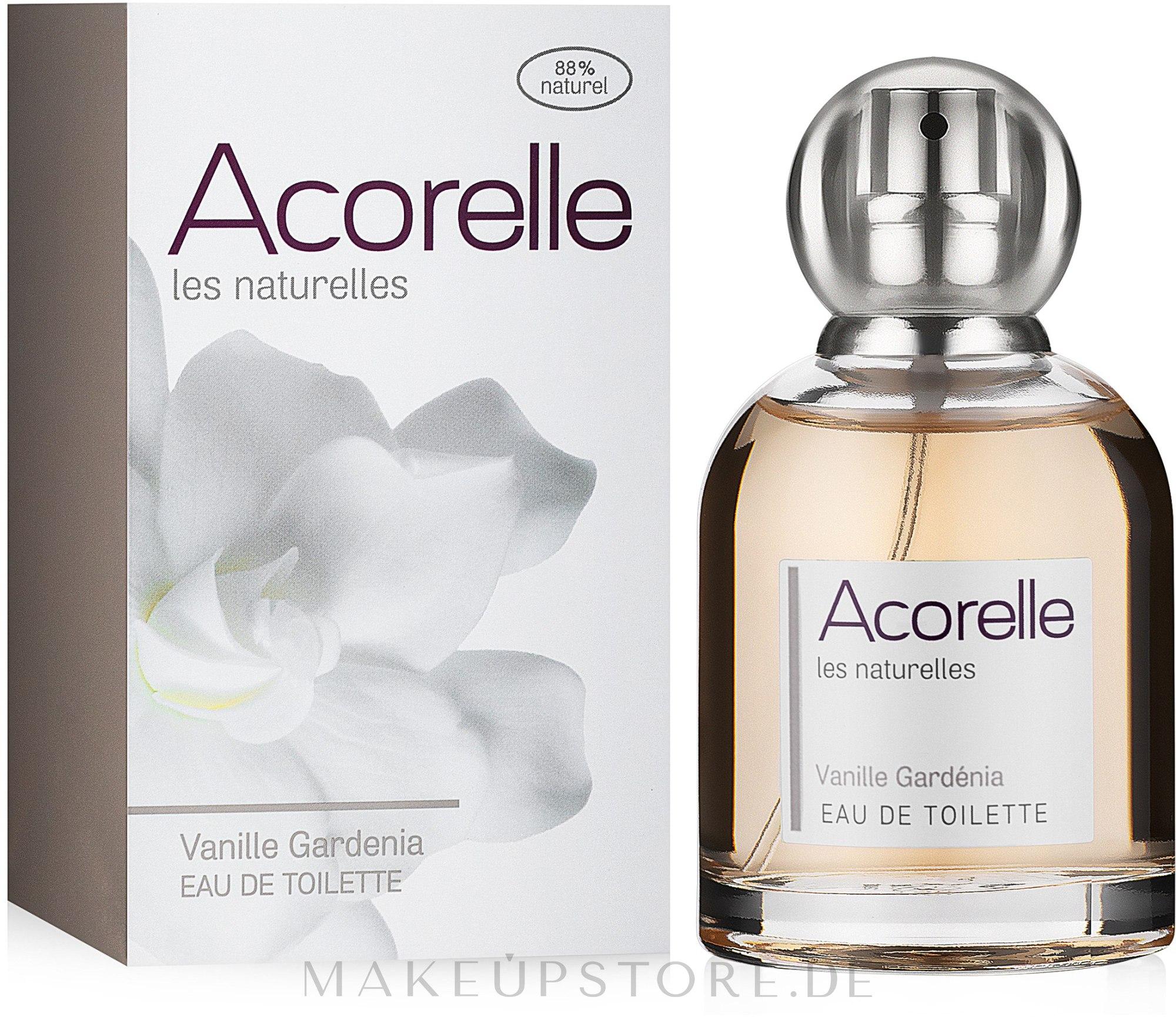 Acorelle Vanille Gardenia - Eau de Toilette  — Bild 50 ml
