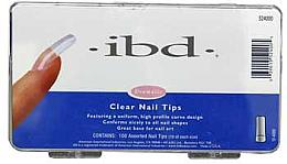 Düfte, Parfümerie und Kosmetik Nagel-Tips für künstliche Fingernägel transparent - IBD Clear Nail Tips