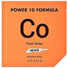 Düfte, Parfümerie und Kosmetik Feuchtigkeitsspendende Tuchmaske mit pflanzlichem Kollagen-Extrakt - It's Skin Power 10 Formula Mask Sheet CO