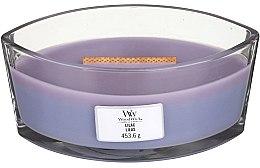 Düfte, Parfümerie und Kosmetik Duftkerze im Glas Lilac - Woodwick Hearthwick Flame Ellipse Candle Lilac
