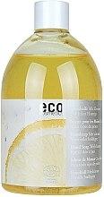 Düfte, Parfümerie und Kosmetik Handseife mit Zitrone - Eco Cosmetics Eco Hand Soap With Lemon (Refill)