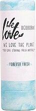 Düfte, Parfümerie und Kosmetik Feuchtigkeitsspendender Deostick mit erfrischendem Duft von reinen Zitrusölen und Kräutern - We Love The Planet Forever Fresh Deodorant Stick