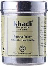 """Düfte, Parfümerie und Kosmetik 100 % natürliches ayurvedisches Wasch- und Kräuterpulver für Haare """"Reetha"""" - Khadi Reetha Pulver"""