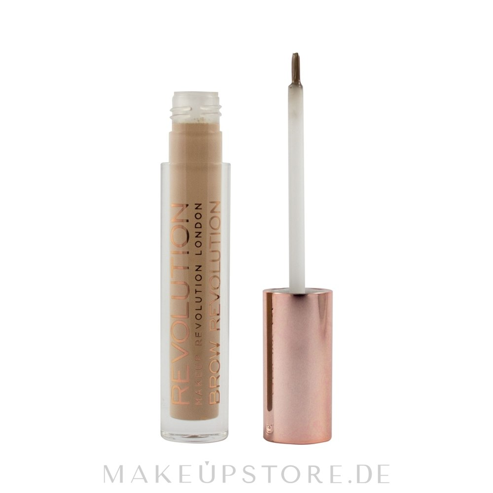Augenbrauengel - Makeup Revolution Brow Gel — Bild Soft Brown
