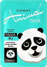 Düfte, Parfümerie und Kosmetik Beruhigende Tuchmaske für fettige und gemischte Haut - Conny Animal Mask Panda