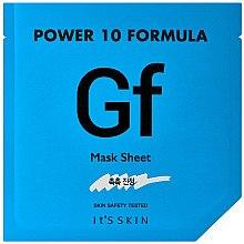 Düfte, Parfümerie und Kosmetik Feuchtigkeitsspendende Tuchmaske für weiche Haut - It's Skin Power 10 Formula Mask Sheet GF