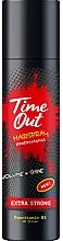 Düfte, Parfümerie und Kosmetik Haarspray für mehr Volumen und Glanz Extra starker Halt - Time Out Hairspray Extra Strong Volume And Shine