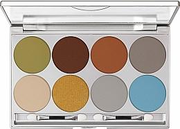 Düfte, Parfümerie und Kosmetik Lidschatten-Palette - Kryolan Dermacolor Light Eye Shadow Palette 8 Colors