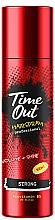 Düfte, Parfümerie und Kosmetik Haarspray für mehr Volumen und Glanz Starker Halt - Time Out Hairspray Strong