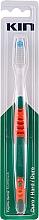 Düfte, Parfümerie und Kosmetik Zahnbürste hart rot - Kin Hard Toothbrush