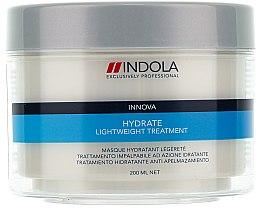 Düfte, Parfümerie und Kosmetik Feuchtigkeitsspendende Intensivkur für trockenes Haar - Indola Innova Hydrate Light Weight Treatment