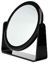 Düfte, Parfümerie und Kosmetik Doppelseitiger Kosmetikspiegel 85055 schwarz - Top Choice