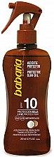 Düfte, Parfümerie und Kosmetik Sonnenschutzöl SPF 10 - Babaria Protective Sun Oil Spf10