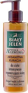 Intensiv regenerierende Körpercreme für empfindliche Haut - Bialy Jelen Apteka Alergika Cream-Care For Body — Bild N1