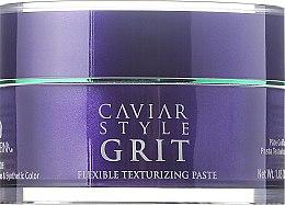 Düfte, Parfümerie und Kosmetik Texturierende Haarpaste mit schwarzem Kaviar - Alterna Caviar Style Grit Flexible Texturizing Paste