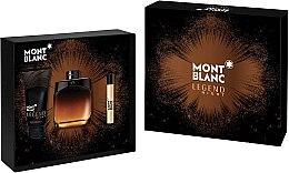 Montblanc Legend Night - Duftset (Eau de Parfum 100ml + Mini 7,5ml + After Shave Balsam 100ml) — Bild N1