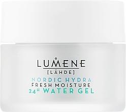 Düfte, Parfümerie und Kosmetik Erfrischendes und feuchtigkeitsspendendes Gesichtsgel - Lumene Nordic Hydra Fresh Moisture 24H Water Gel