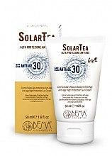 Düfte, Parfümerie und Kosmetik Anti-Age Sonnencreme für Gesicht SPF 30 - Bema Cosmetici Solar Tea Anti-Age High Protection Sun Cream SPF30