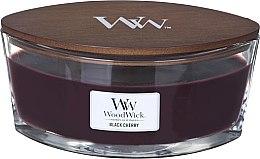 Düfte, Parfümerie und Kosmetik Duftkerze im Glas Black Cherry - Woodwick Hearthwick Flame Ellipse Candle Black Cherry