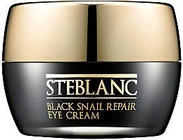 Düfte, Parfümerie und Kosmetik Augencreme mit Schneckenextrakt - Steblanc Black Snail Repair Eye Cream