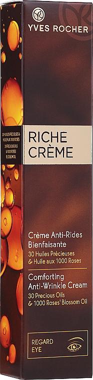 Reichhaltige Anti-Falten Augenkonturcreme - Yves Rocher Riche Creme Anti-Wrinkle Eye Cream — Bild N2