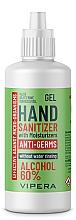 Düfte, Parfümerie und Kosmetik Feuchtigkeitsspendendes antibakterielles Handgel - Vipera Hydrating Antibacterial Hand Gel