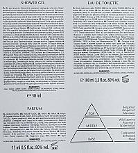 Bi-Es Tuxedo - Duftset (Eau de Toilette 100ml + Eau de Toilette 15ml + Duschgel 50ml) — Bild N3
