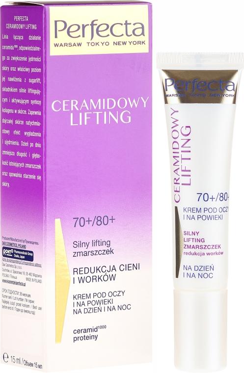 Augenkonturcreme - Perfecta Ceramid Lift 70+/80+ Eye Cream — Bild N1
