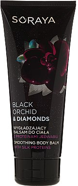 Glättender Körperbalsam mit Seidenproteinen - Soraya Black Orchid & Diamonds Smoothing Body Balm — Bild N1