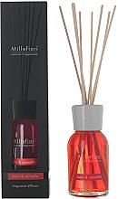 Düfte, Parfümerie und Kosmetik Raumerfrischer Apple & Cinnamon - Millefiori Natural Diffuser Apple & Cinnamon Reed Diffuser