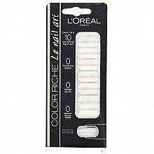 Düfte, Parfümerie und Kosmetik Dekorative Nagelsticker - L'Oreal Paris Stickers Color Riche Le Nail Art