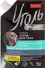 Düfte, Parfümerie und Kosmetik Anti-Cellulite Körperpeeling mit Aktivkohle - Fito Kosmetik Volksrezepte