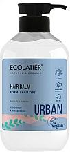 Düfte, Parfümerie und Kosmetik Pflegende Haarspülung mit Kokosnuss und Maulbeeren - Ecolatier Urban Hair Balm