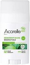 Düfte, Parfümerie und Kosmetik Bio Deostick mit Zitrone und grüner Mandarine - Acorelle Deodorant Balm