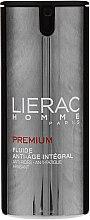 Gesichtspflegeset - Lierac Homme (Anti-Aging Fluid 40ml + Duschgel 200ml + Kosmetiktasche) — Bild N5